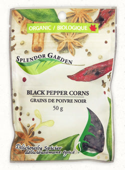 Splendor Garden Black Peppercorns (50g)
