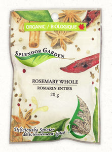 Splendor Garden Rosemary Whole (20g)