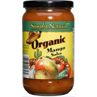 Simply Natural Organic Mango Salsa (470ml)