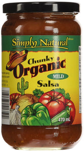 Simply Natural Mild Chunky Salsa (470ml)