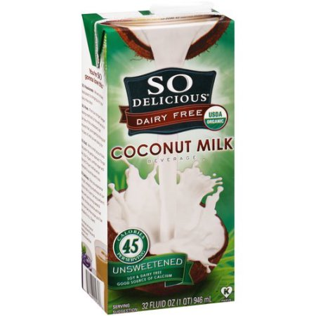 So Delicious Coconut Milk Beverage Unsweetened (946ml)