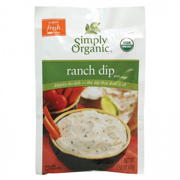 Simply Organic Ranch Dip Mix (42g)