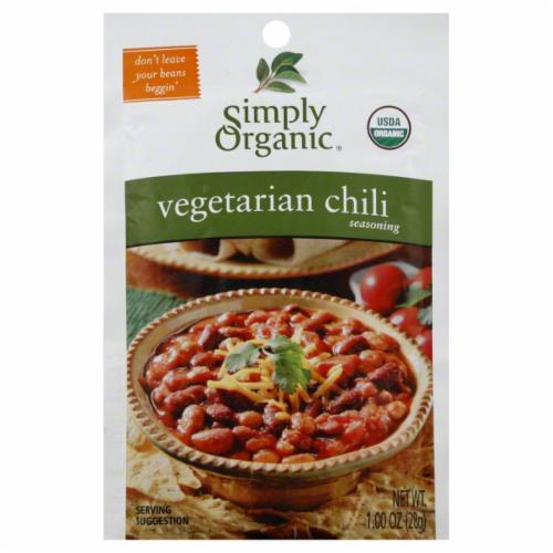 Simply Organic Vegetarian Chili Seasoning (28g)