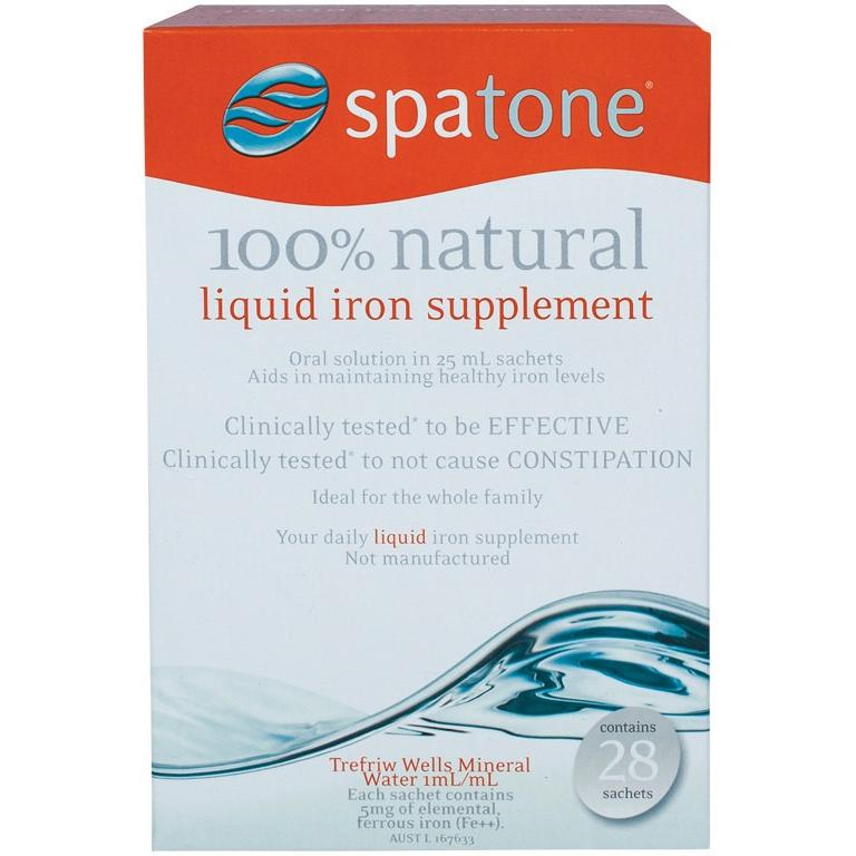 Spatone Liquid Iron Supplement (28 Sachets)