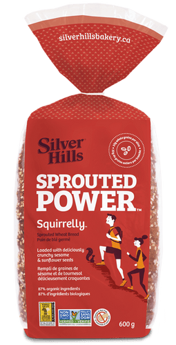 Silver Hills Sprouted Squirrelly Bread (600g)