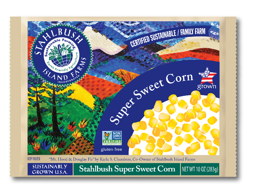 Stahlbush Frozen Whole Kernel Corn (340g)