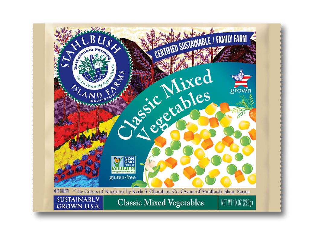 Stahlbush Frozen Mixed Vegetables (283g)