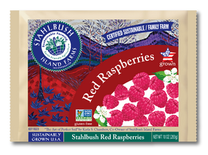Stahlbush Frozen Red Raspberries (283g)