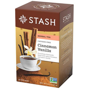 Stash Herbal Tea Cinnamon Vanilla (18 Tea Bags)