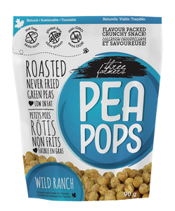 Three Farmers Roasted Peas Wild Ranch (90g)