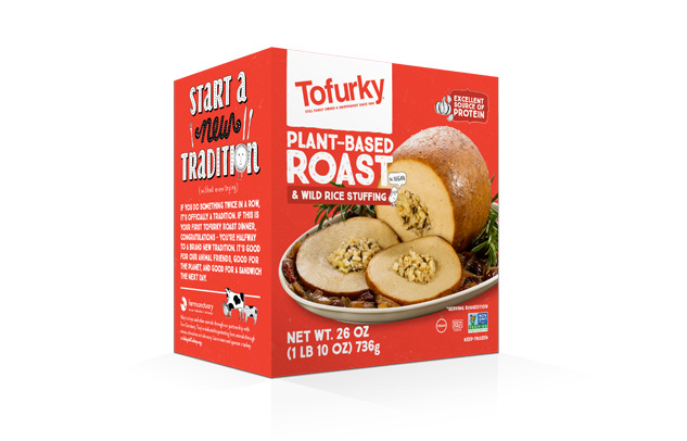 Tofurky Vegan Roast w/ Wild Rice Stuffing (736g)