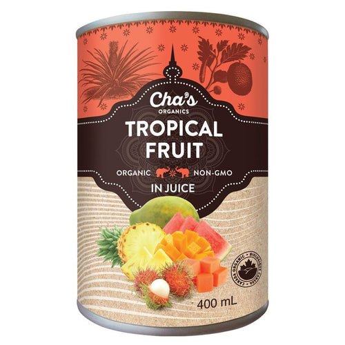 Cha's Organic Tropical Fruit 400ml