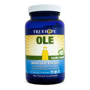 Truehope Ole Olive Leaf Extract (180 Veg Caps)