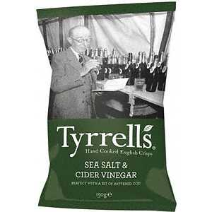Tyrell`s Sea Salt & Cider Vinegar Chips