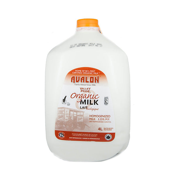 Valley Pride Organic Homo Milk (4L)