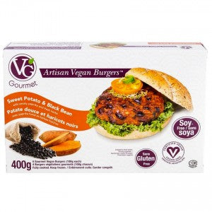 Vegetarian Gourmet Sweet Potato & Black Bean Vegan Burgers (4/pack)