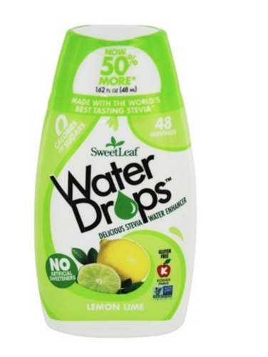 SweetLeaf Water Drops Lemon Lime (48ml)