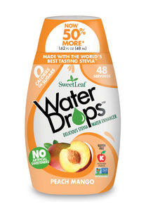 SweetLeaf Water Drops Peach Mango (48ml)