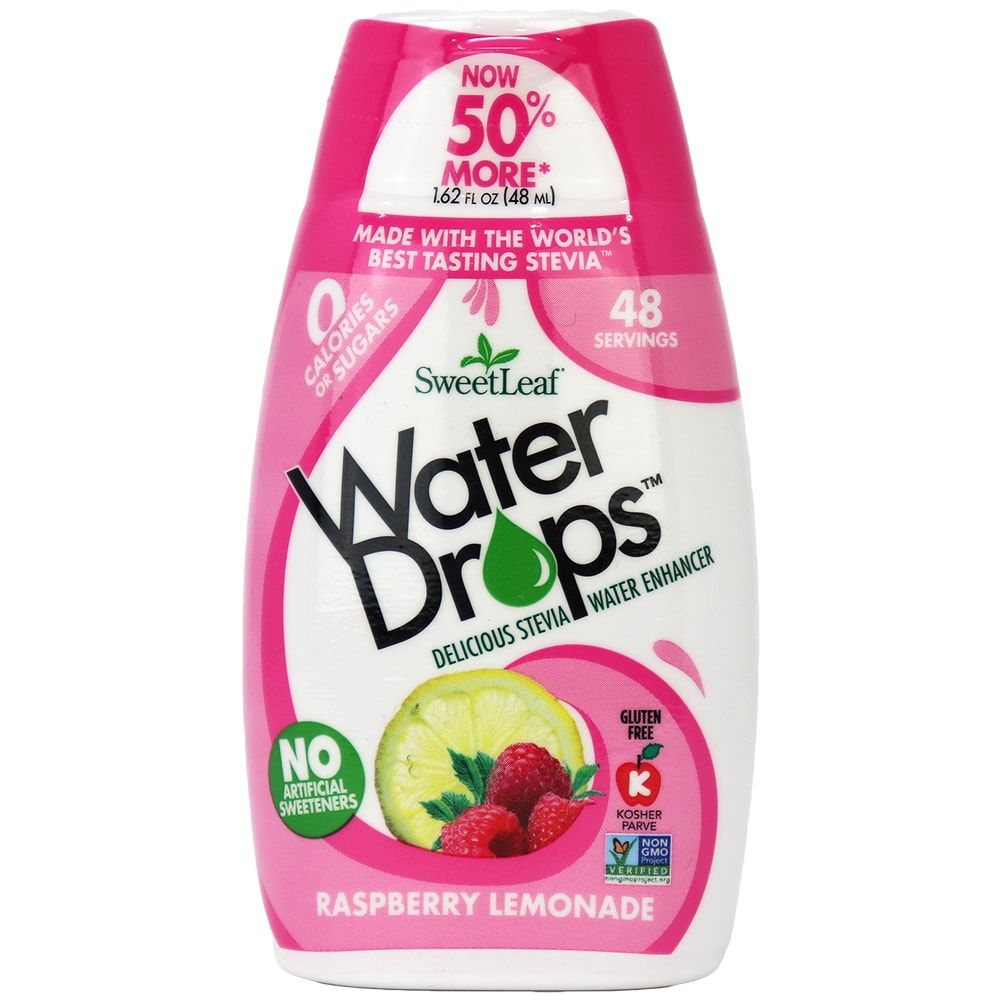SweetLeaf Water Drops Raspberry Lemonade (48ml)