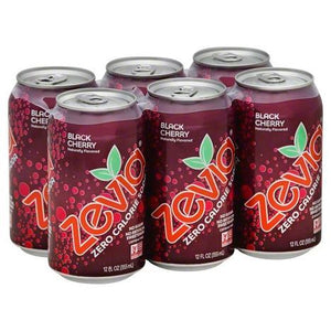 Zevia Soda Black Cherry (6 pack)