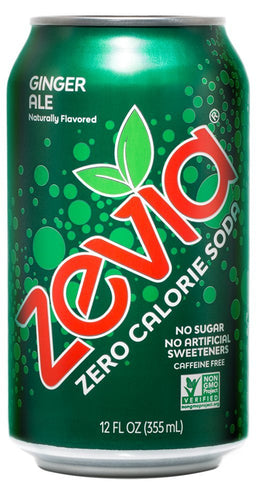 Zevia Soda Ginger Ale (355ml)