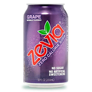 Zevia Soda Grape (355ml)