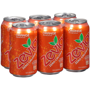 Zevia Soda Orange (6 pack)