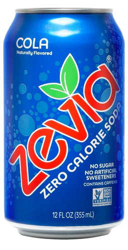 Zevia Soda Cola (355ml)