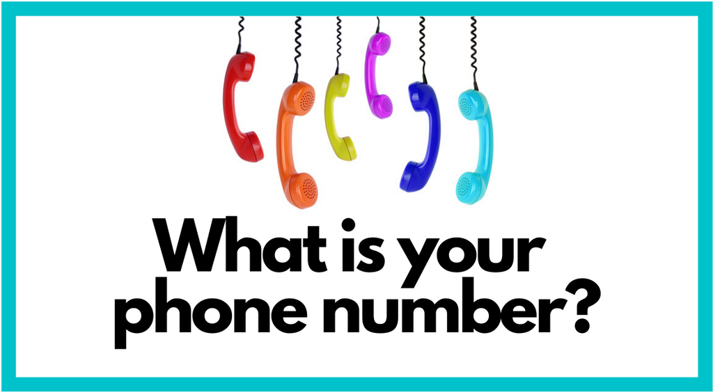 What is Your Phone Number?