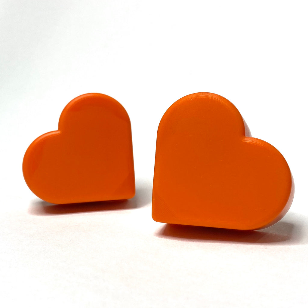 Grindstone Heartstopper Long Stem Toe Stops - Orange U Glad