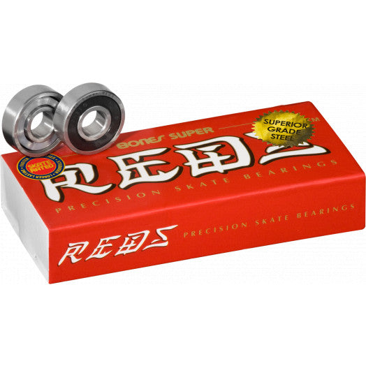 Super Reds Bones Bearings