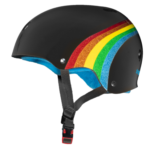 Triple 8 Rainbow Helmet - Black