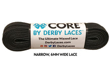 Black CORE Derby Laces