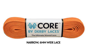 Carrot Orange CORE Derby Laces
