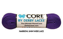 Purple CORE Derby Laces