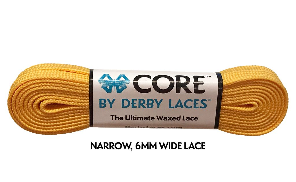 Sunflower Yellow CORE Derby Laces