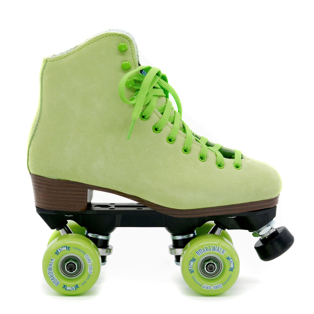 Sure Grip Boardwalk Skates - KEY LIME