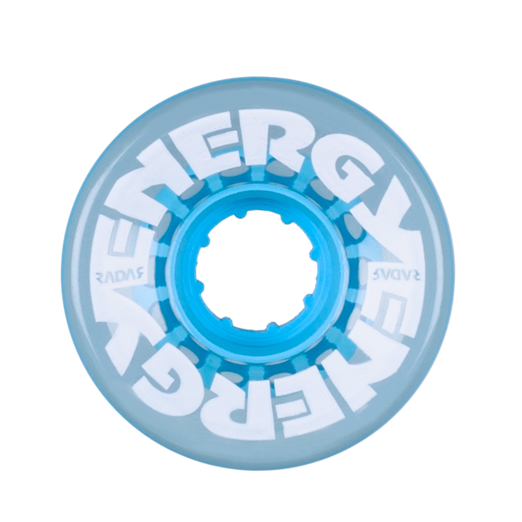 Energy Wheels - Clear Blue 57mm  (8-pack)