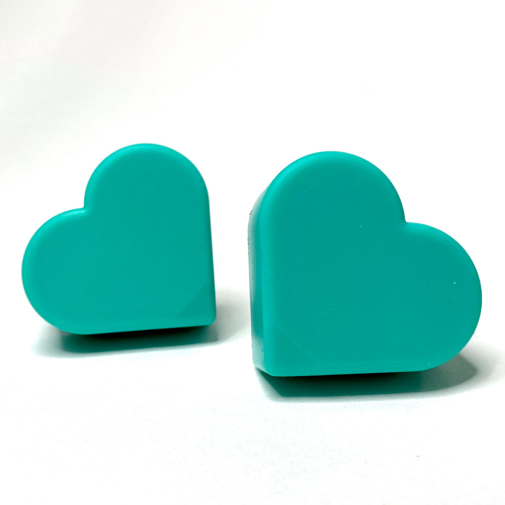 Grindstone Heartstopper Long Stem Toe Stops - Turquoise Tejas
