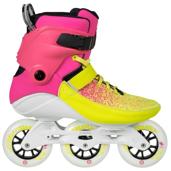 Powerslide Swell 100 Multicolor Flair Skates