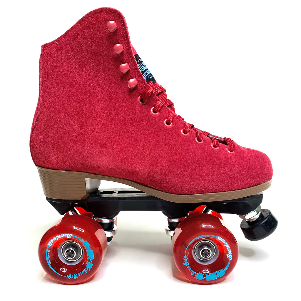 SURE GRIP BOARDWALK SKATES - RED