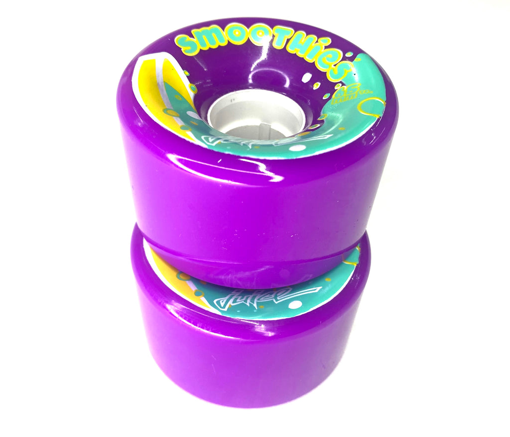 Smoothie Outdoor Wheels - Purple (8-pack)