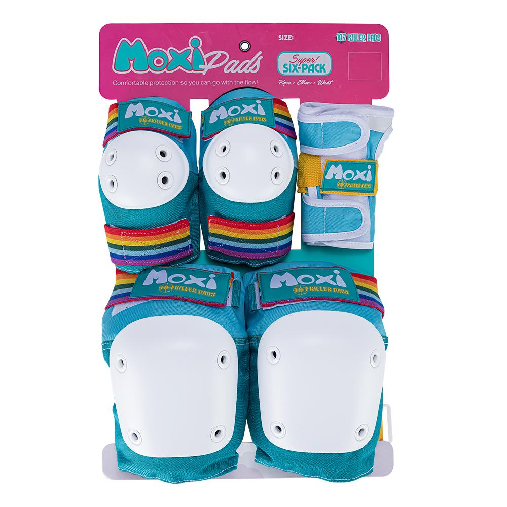 Moxi Six Pack Pad Set -Jade