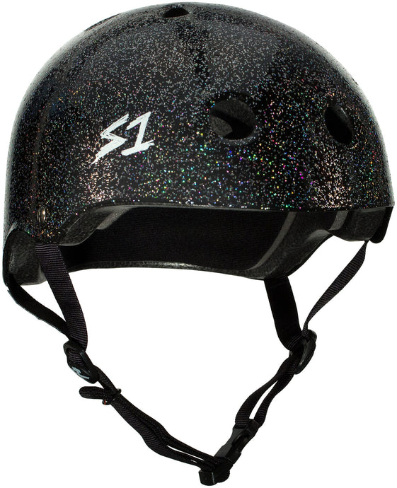 S1 Lifer Helmet - Black Gloss Glitter