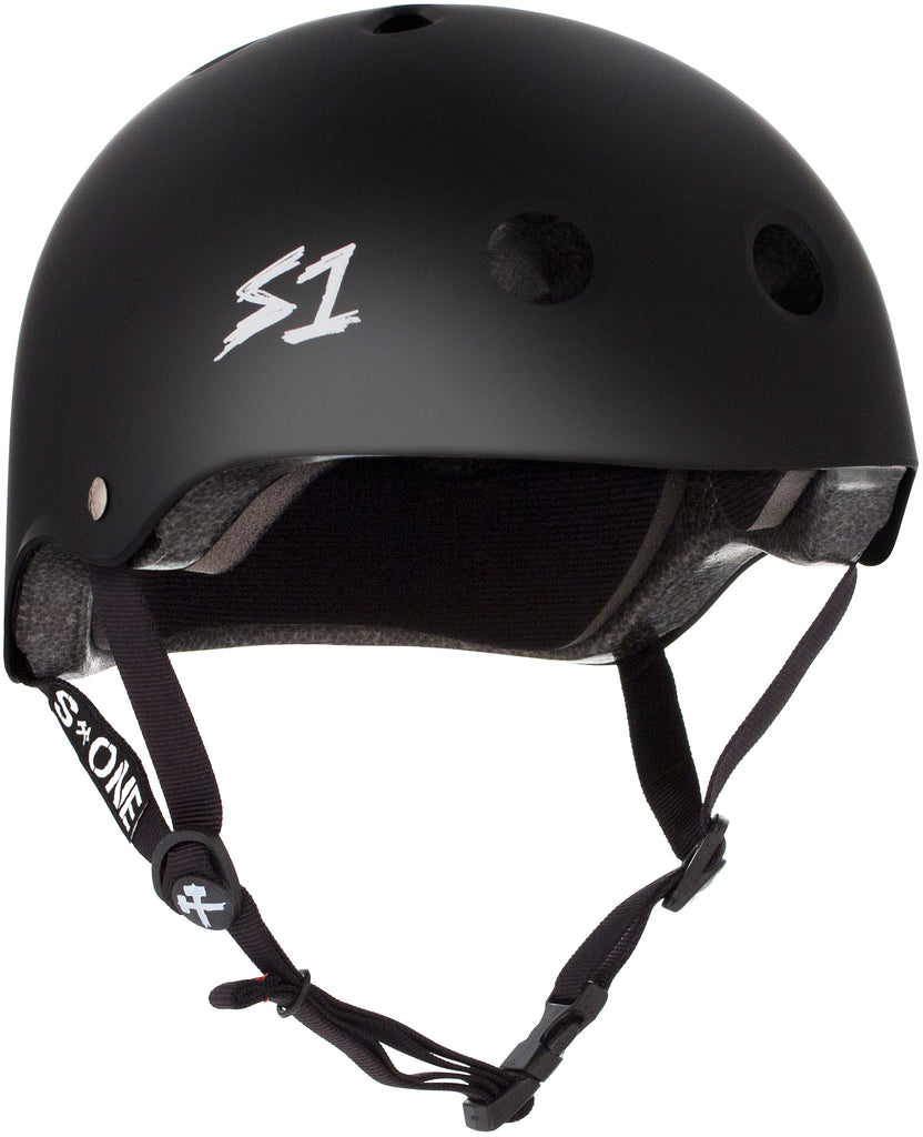 S1 Lifer Helmet - Black Matte - Pigeon's Roller Skate Shop