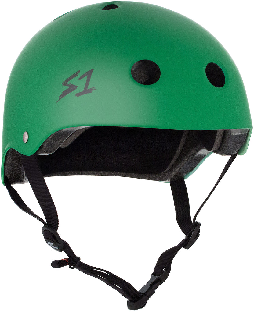 S1 Lifer Helmet - Kelly Green Matte - Pigeon's Roller Skate Shop