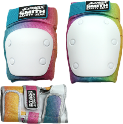 Smith Scabs - Adult 3-Pack Pads - Mermaid