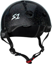 S1 Mini Lifer *KIDS* Helmet - Black Gloss Glitter
