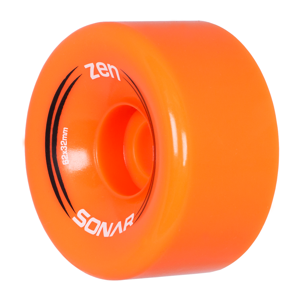 Sonar Zen Wheels - Orange (4-Pack)