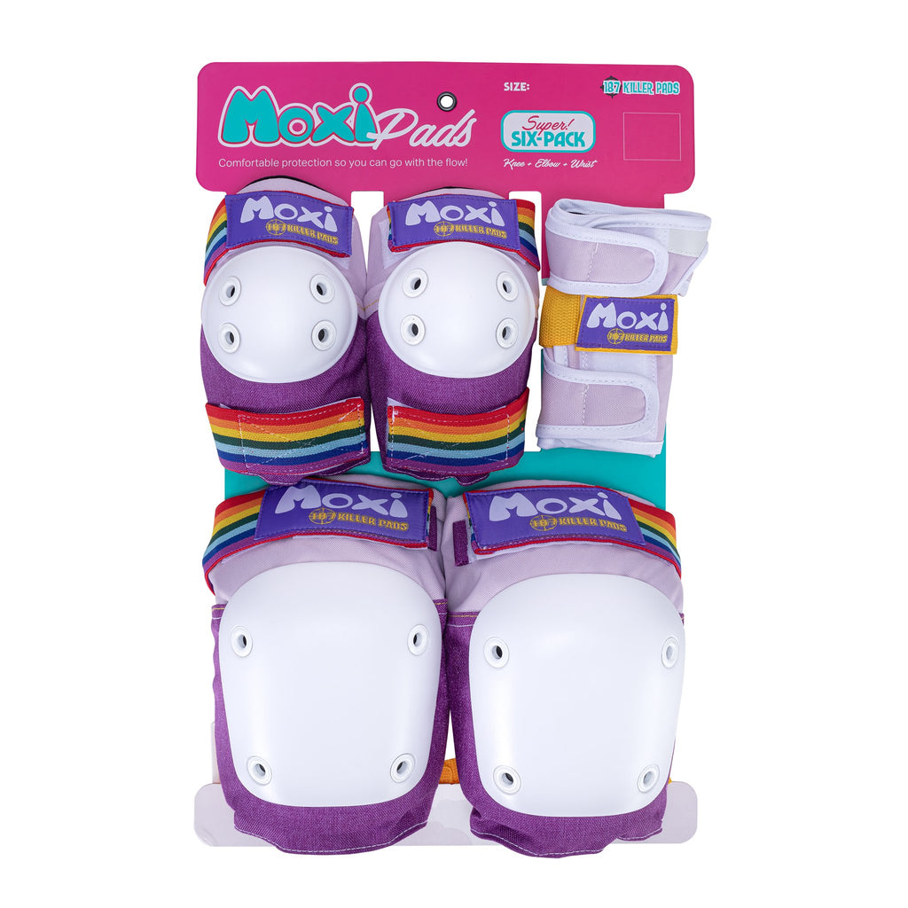 Moxi Six Pack Pad Set -Lavender
